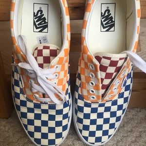 Men's Vans Era Checkerboard Sneaker